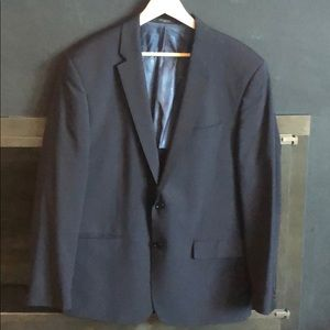 John Varvatos Light Wool Navy Blazer Size 46R
